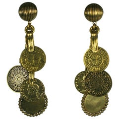 Yves Saint Laurent Haute Couture, F/W 1969 Moroccan Coin Ear Clips