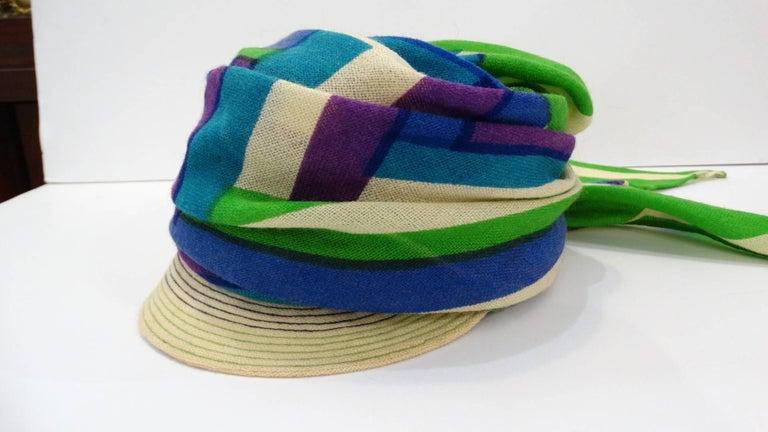 Women's Yves Saint Laurent Headscarf Hat, 1960s  For Sale