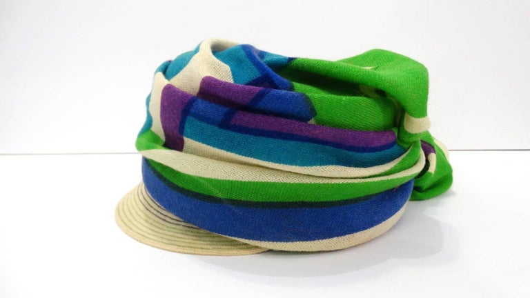 Yves Saint Laurent Headscarf Hat, 1960s  For Sale 2