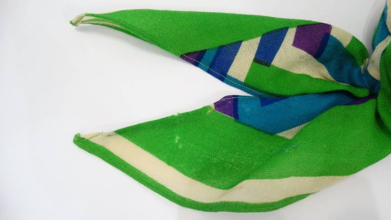 Yves Saint Laurent Headscarf Hat, 1960s  For Sale 3