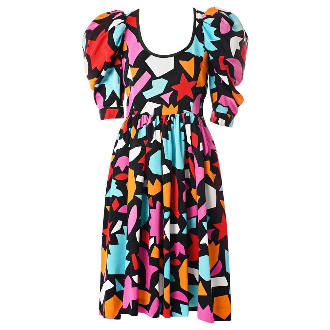 "Yves Saint Laurent ""Hommage A Matisse"" Dress, Spring-Summer 1983"