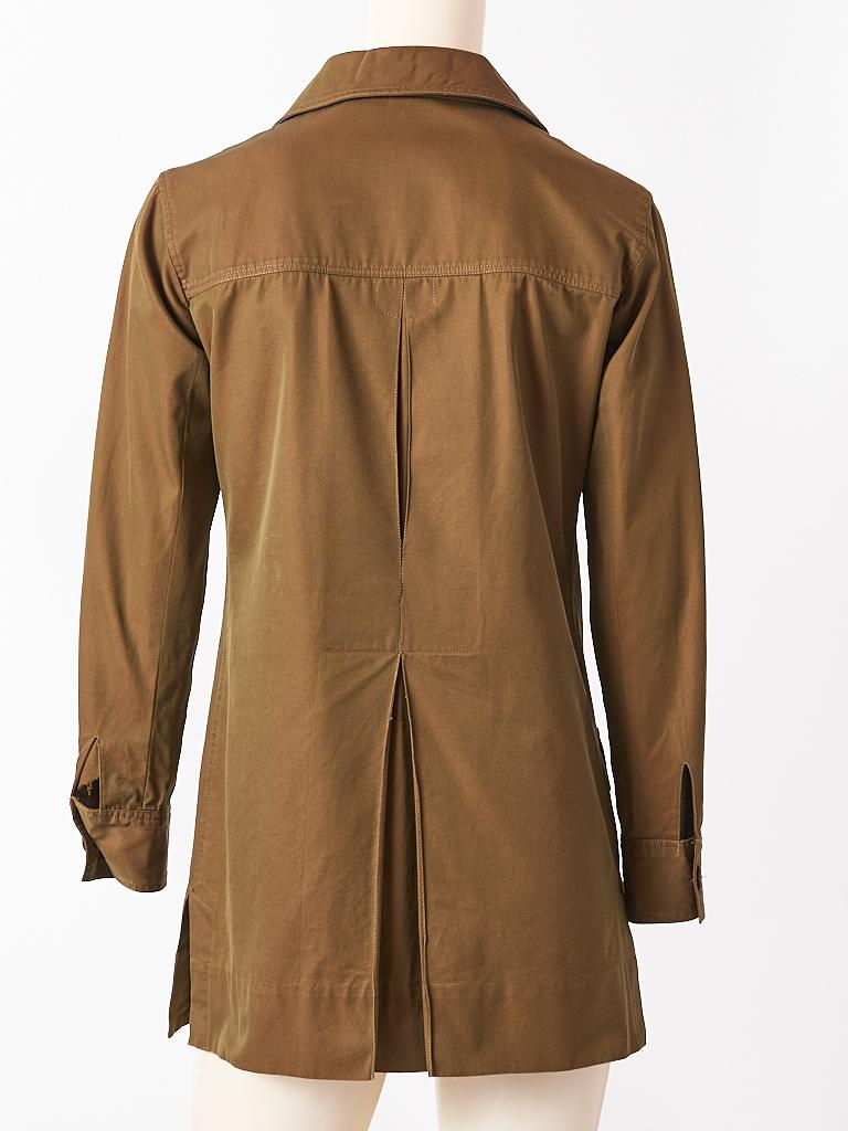 Yves Saint Laurent Iconic Saharienne C. 1968 In Good Condition For Sale In New York, NY