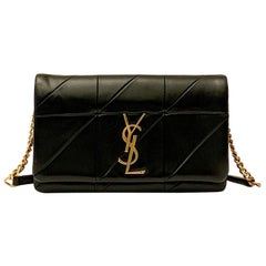 Yves Saint Laurent Jamie WOC Wallet on Chain Black Bag