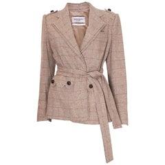 Yves Saint Laurent Linen/Silk Mix Jacket