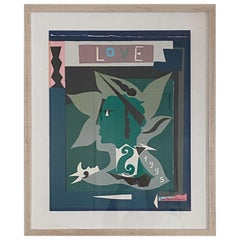 """Yves Saint Laurent """"Love"""" Poster, 1995"""