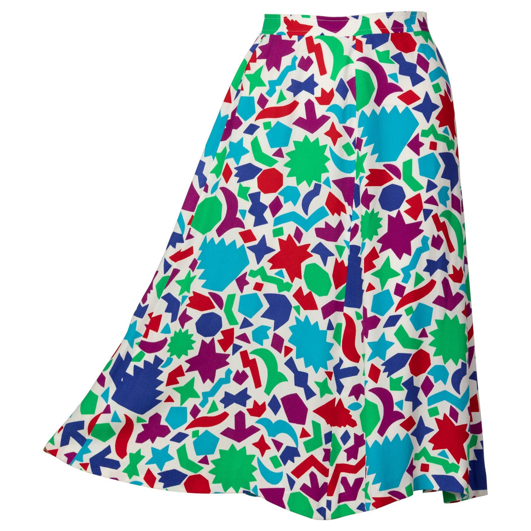 Yves Saint Laurent Matisse Inspired Skirt