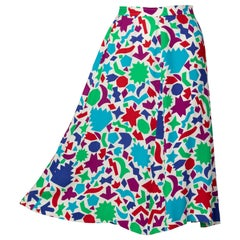 Yves Saint Laurent Matisse Inspired Skirt