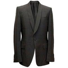 Yves Saint Laurent Mohair blend, one button blazer - Size 50R Large