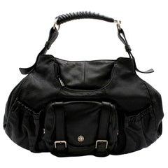 Yves Saint Laurent Mombasa Black Vintage Tote Bag 42cm