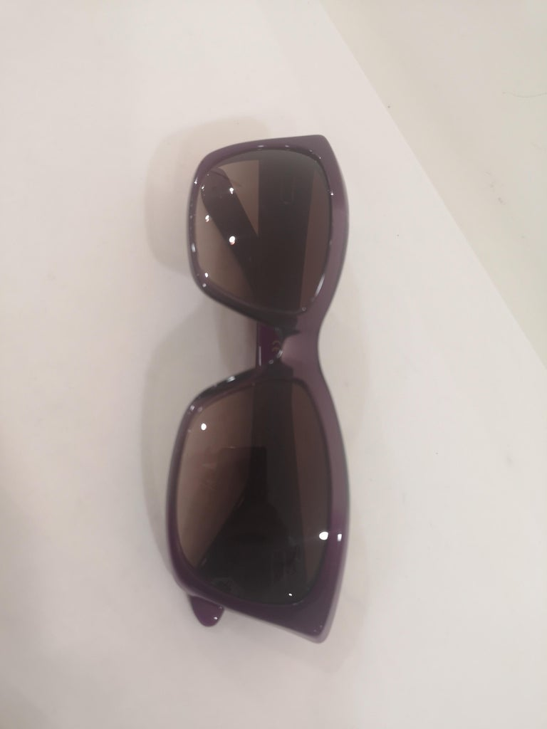 Yves Saint LAurent Purple sunglasses NWOT For Sale 7