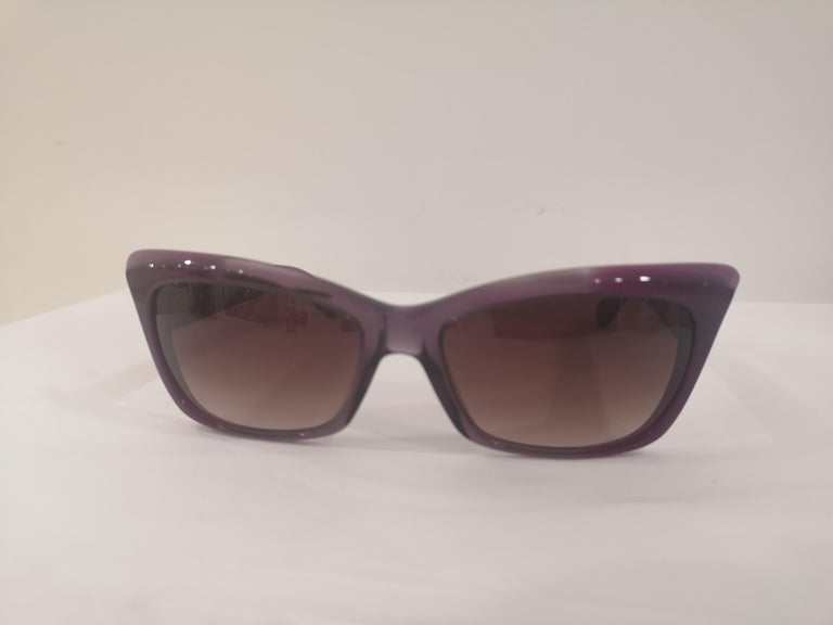 Yves Saint LAurent Purple sunglasses NWOT For Sale 1
