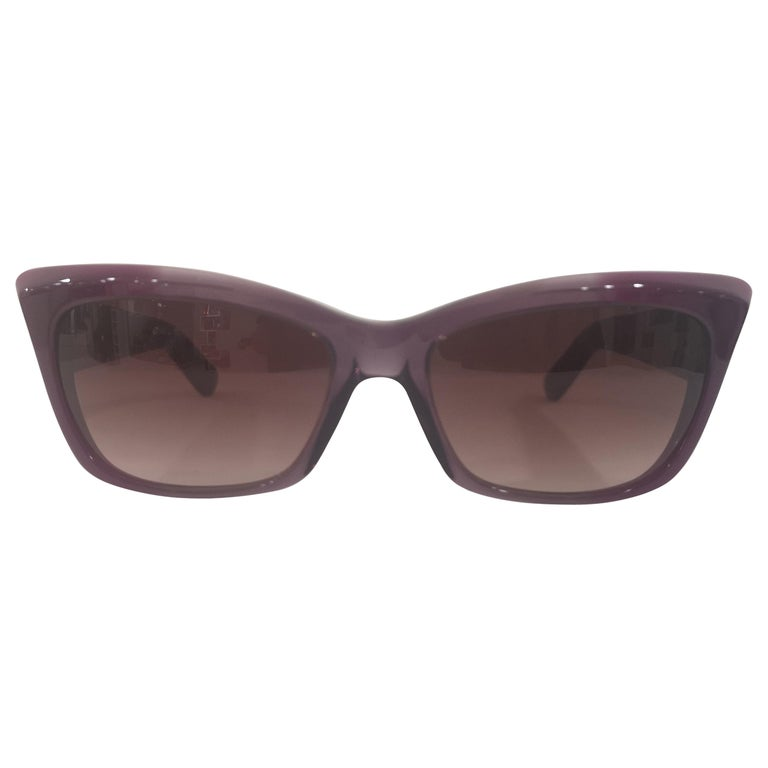 Yves Saint LAurent Purple sunglasses NWOT For Sale