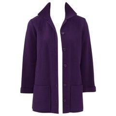Yves Saint Laurent Ribbed Blazer Jacket