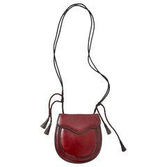 Yves Saint Laurent Rive Gauche 70's Leather Shoulder Bag