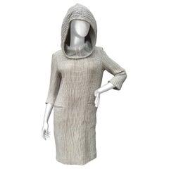Yves Saint Laurent Rive Gauche Avant-Garde Hooded Dress c 21st C