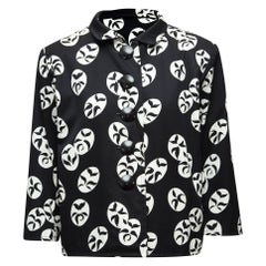 Yves Saint Laurent Rive Gauche Black & White Jacket