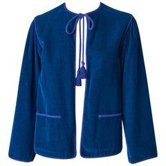 Yves Saint Laurent Rive Gauche Corduroy Jacket