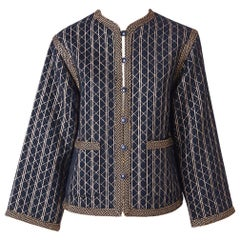 Yves Saint Laurent RIve Gauche Quilted Jacket Late 70's