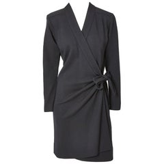 Yves Saint Laurent Rive Gauche Wrap Dress