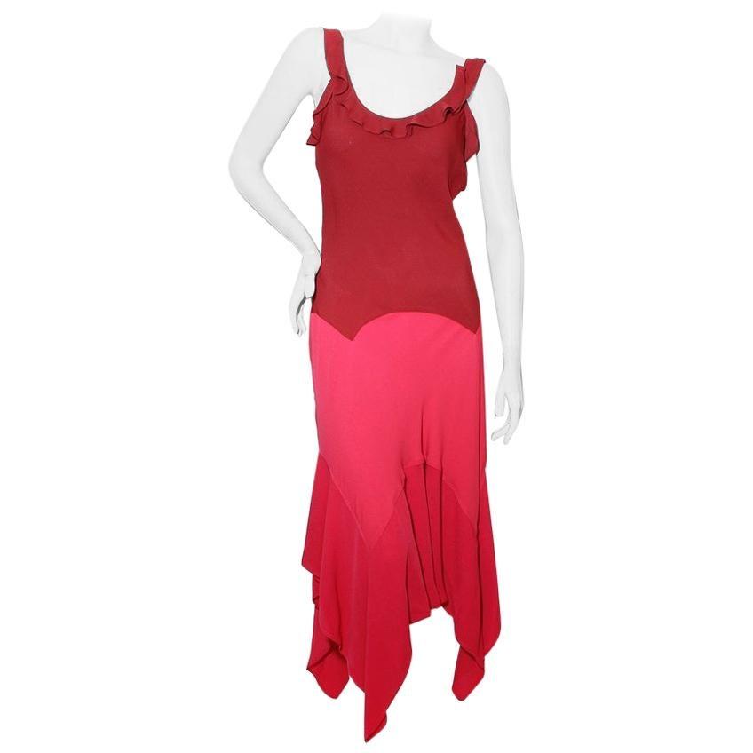 Yves Saint Laurent Ruffle Dress (Tom Ford For YSL)