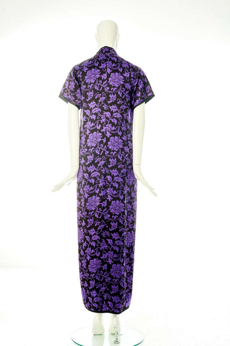 Yves Saint Laurent Runway Evening Dress, Fall-Winter 1979-1980 For Sale 7