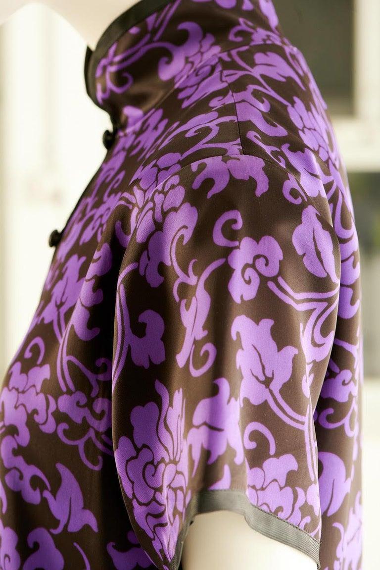 Yves Saint Laurent Runway Evening Dress, Fall-Winter 1979-1980 For Sale 11