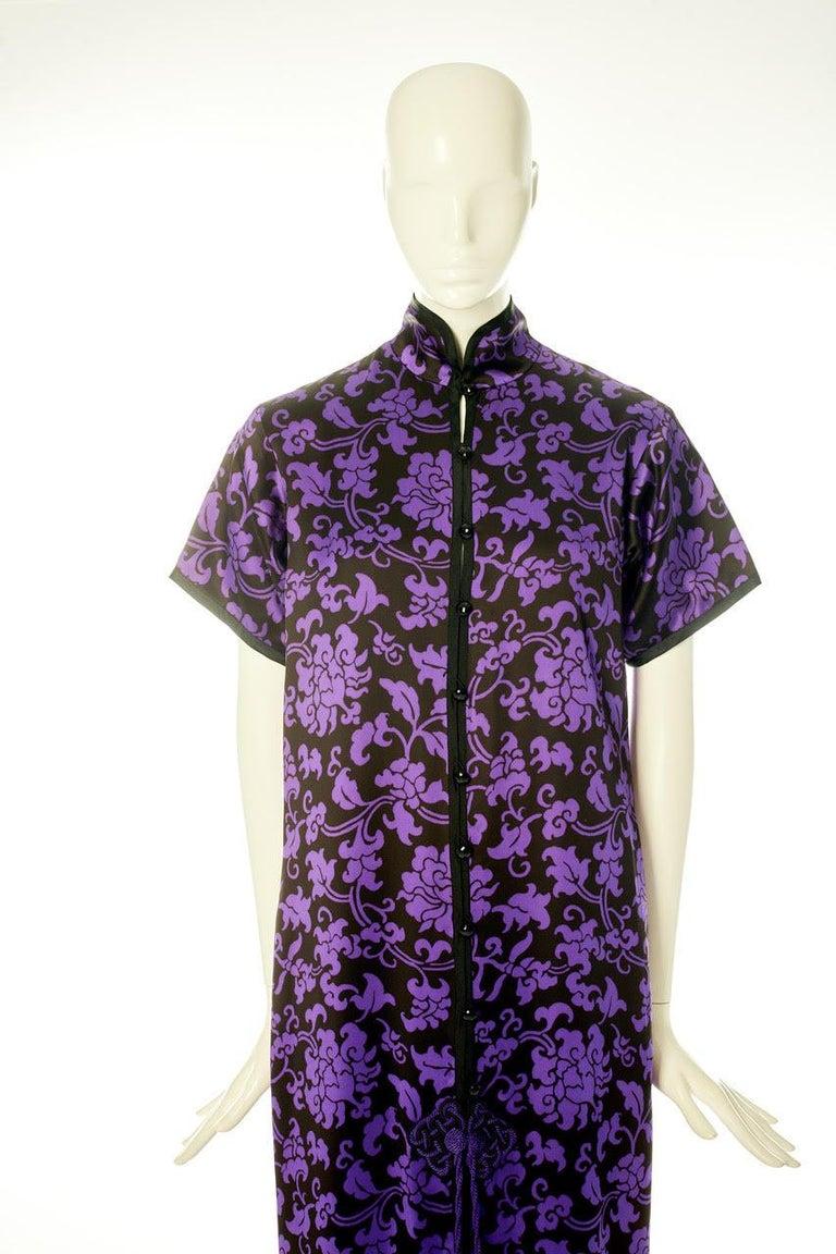 Women's Yves Saint Laurent Runway Evening Dress, Fall-Winter 1979-1980 For Sale