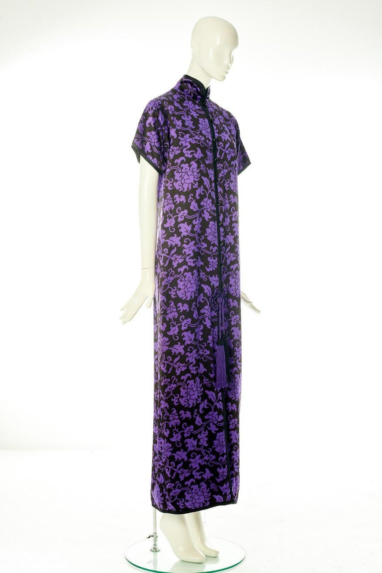 Yves Saint Laurent Runway Evening Dress, Fall-Winter 1979-1980 For Sale 2