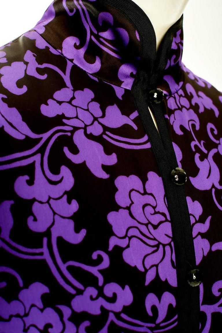 Yves Saint Laurent Runway Evening Dress, Fall-Winter 1979-1980 For Sale 4
