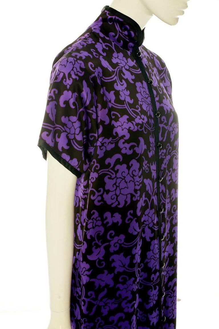 Yves Saint Laurent Runway Evening Dress, Fall-Winter 1979-1980 For Sale 5