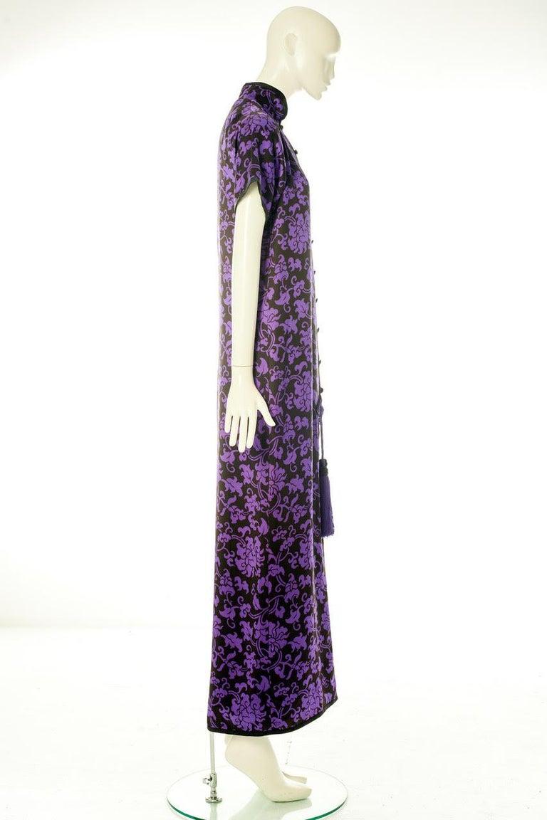 Yves Saint Laurent Runway Evening Dress, Fall-Winter 1979-1980 For Sale 6