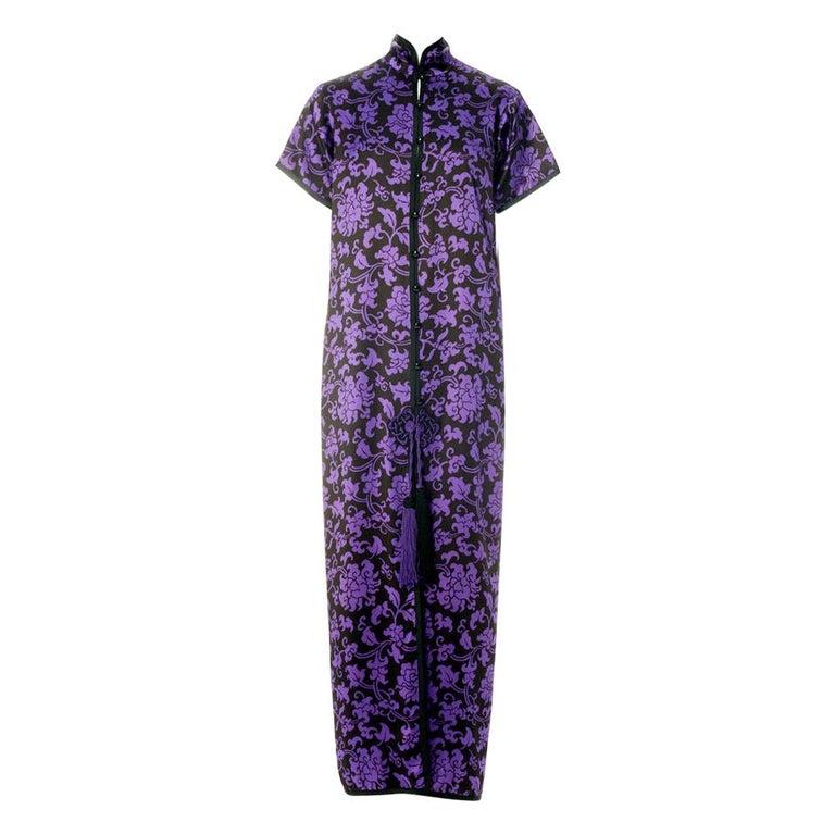 Yves Saint Laurent Runway Evening Dress, Fall-Winter 1979-1980 For Sale