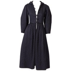 Yves Saint Laurent Russian Collection Quilted Coat