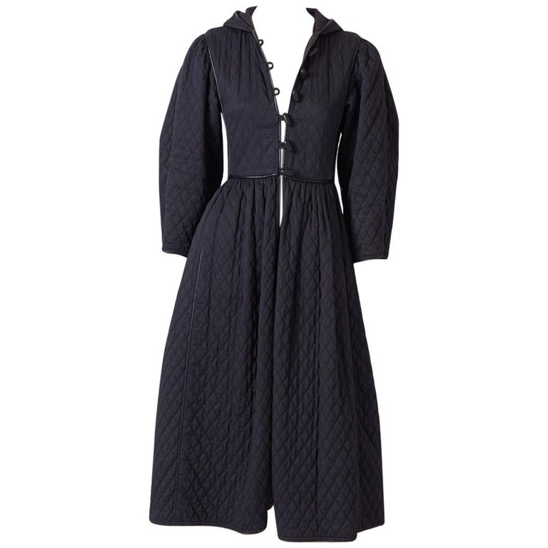 Yves Saint Laurent Russian Collection Quilted Coat For Sale