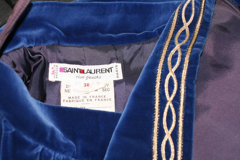 Women's Yves Saint Laurent Russian Collection Skirt For Sale