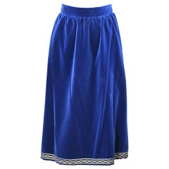 Yves Saint Laurent Russian Collection Skirt