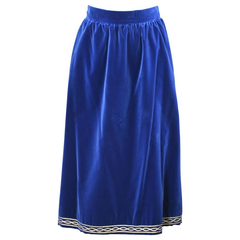 Yves Saint Laurent Russian Collection Skirt For Sale