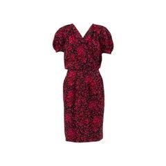 Yves Saint Laurent Silk Summer Dress