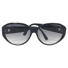 YVES SAINT LAURENT Sunglasses in Dark Blue Plexiglass
