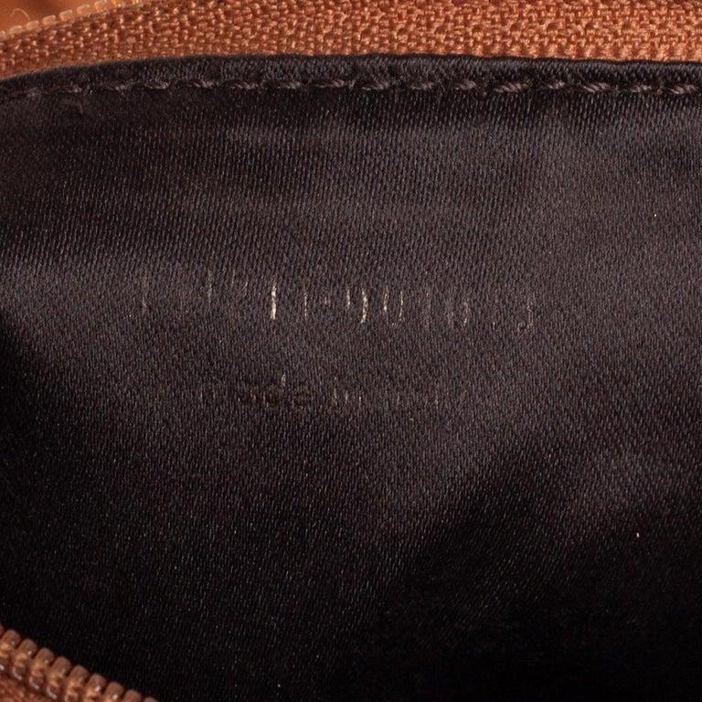 Yves Saint Laurent Tan Leather Vincennes Mombasa Hobo For Sale 7