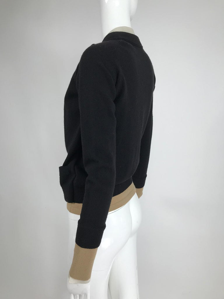 Women's Yves Saint Laurent Three in one cropped cardigan Sweater  For Sale