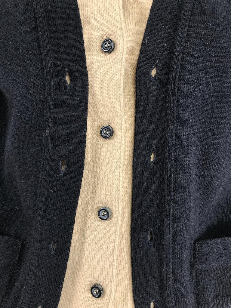 Yves Saint Laurent Three in one cropped cardigan Sweater  For Sale 4