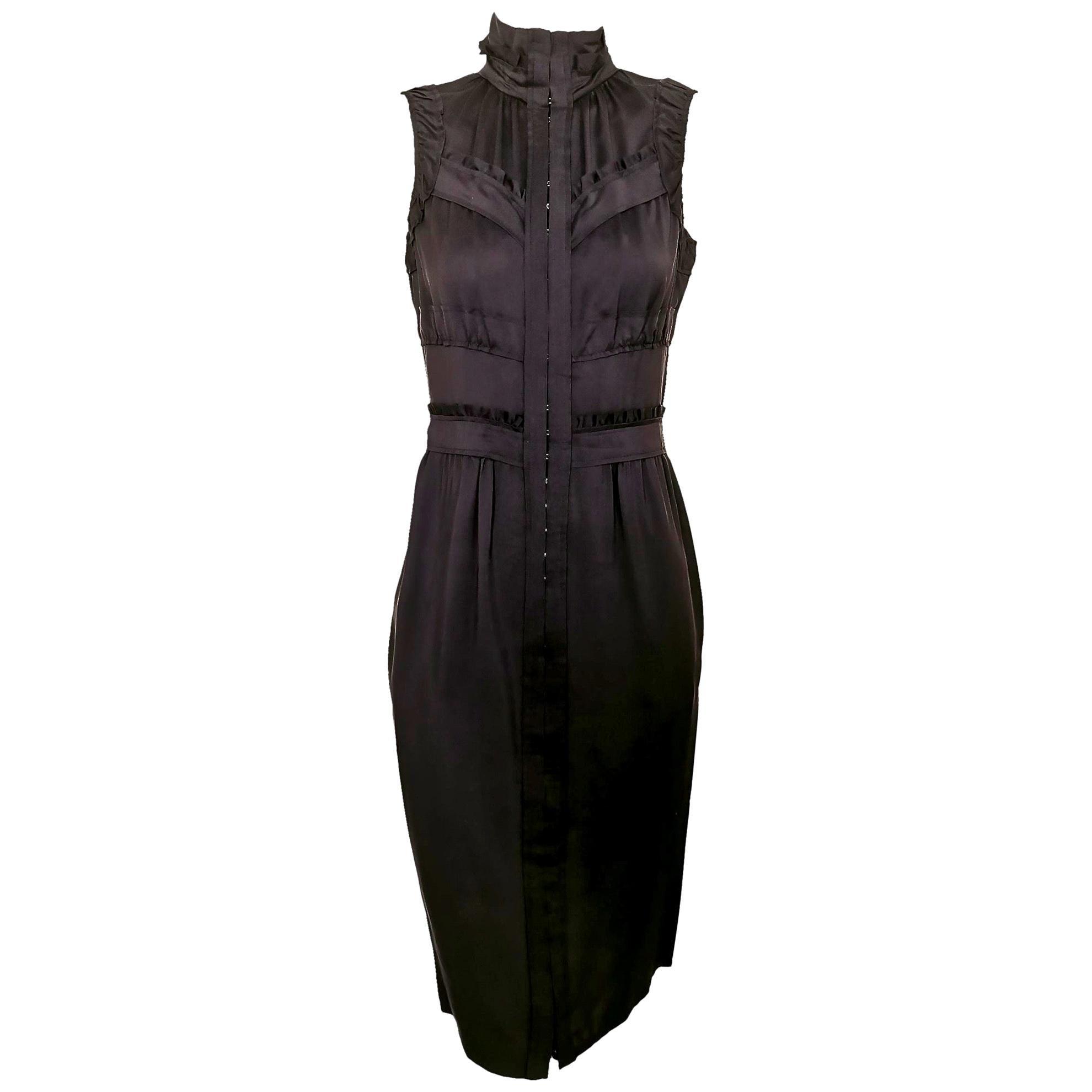 Yves Saint Laurent Tom Ford Silk Slip Dress
