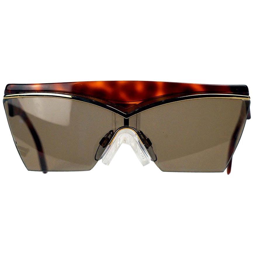 Yves Saint Laurent Tortoise Shell Vintage Sunglasses