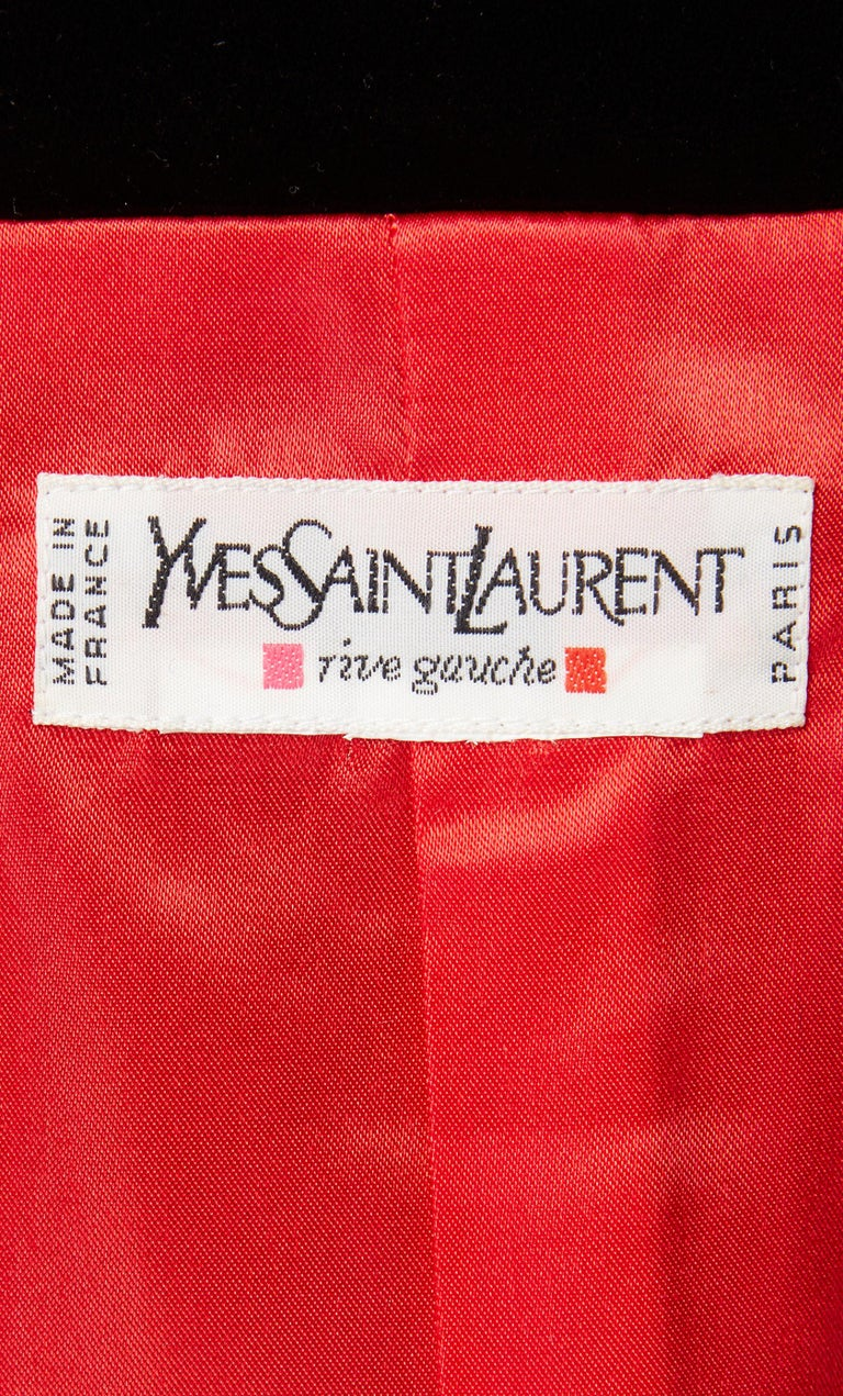 Yves Saint Laurent, two-piece flared skirt set, circa 1996 For Sale 1