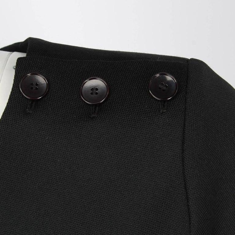 Yves Saint Laurent Vintage Black Suit, 1970s For Sale 2