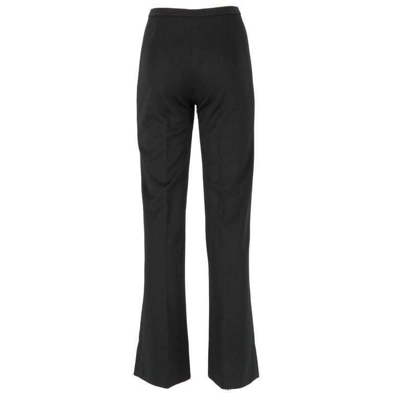 Yves Saint Laurent Vintage Black Suit, 1970s For Sale 4