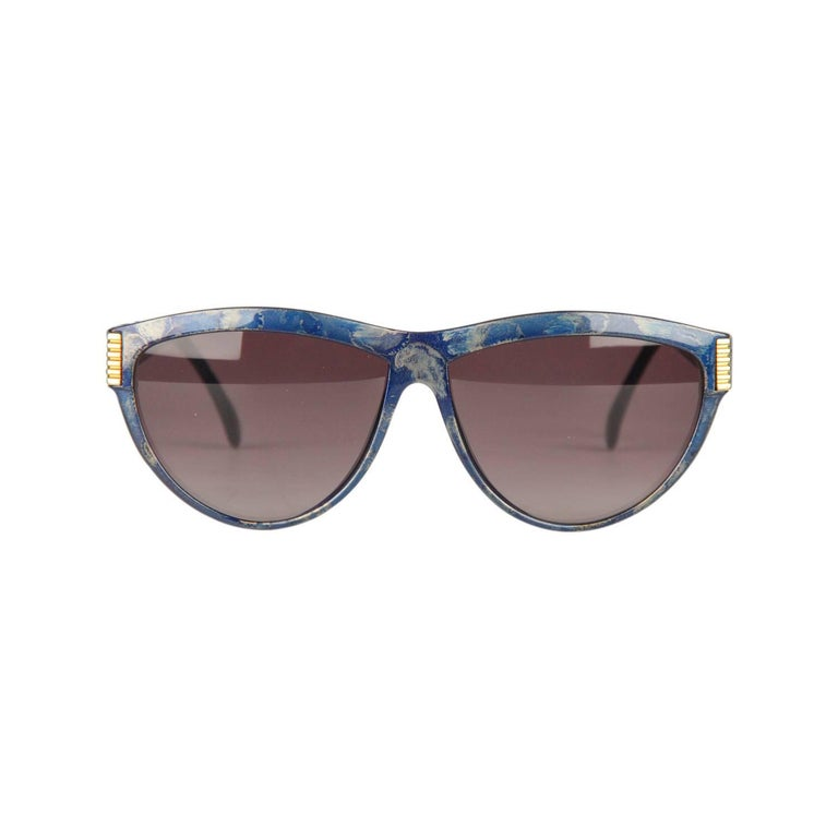 Yves Saint Laurent Vintage Blue Sunglasses 9045