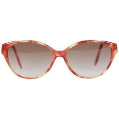Yves Saint Laurent Vintage Brown Cat-Eye Sunglasses Mod. Tohas 920