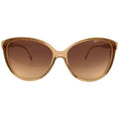 Yves Saint Laurent Vintage Butterfly Glitter Sunglasses 8346 S P21